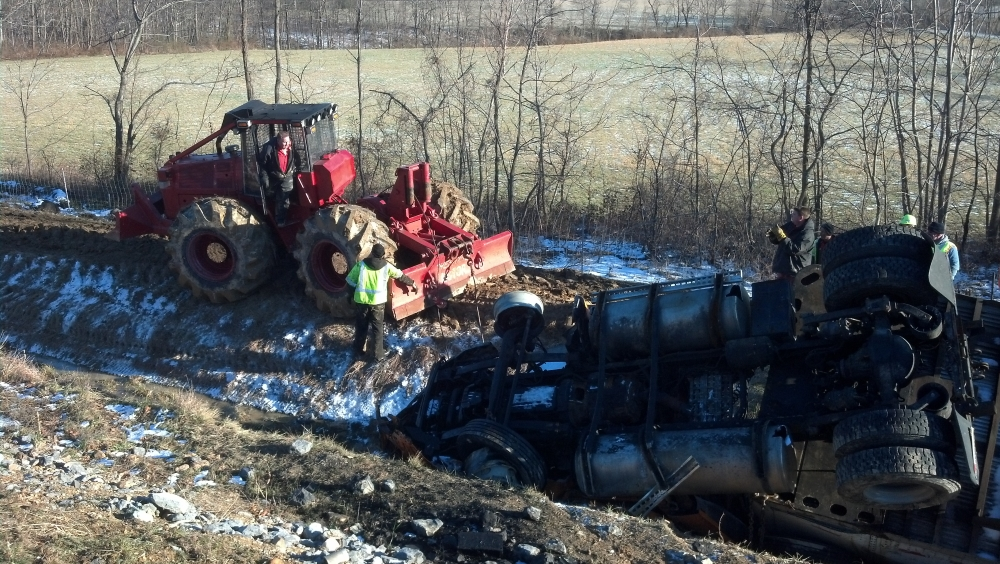 Tractor trailer recovery